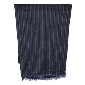 "Missoni Dark Blue Striped Scarf 75""x13"""